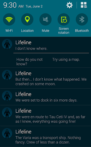 Lifeline - screenshot