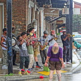 New Orleans by Gary Ambessi - People Street & Candids