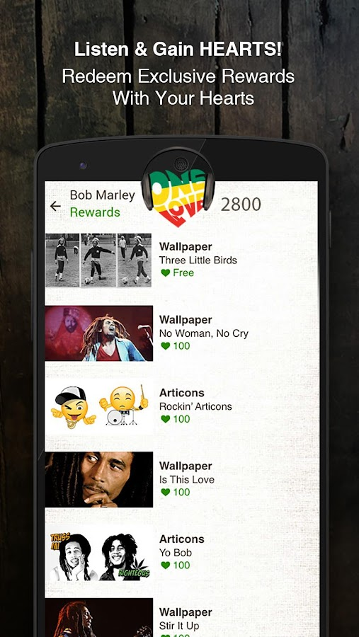 Bob Marley Official Music Screenshot 5