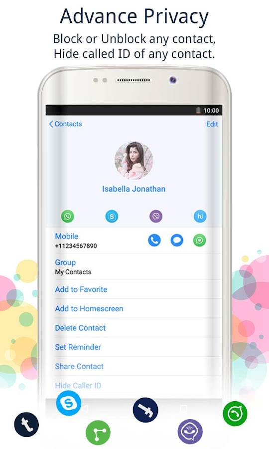 Caller Screen Dialer Pro Screenshot 3