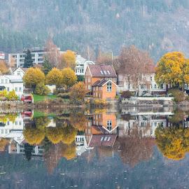 by Anngunn Dårflot - City,  Street & Park  Neighborhoods