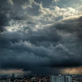 Dark Sky by Yohanes Arief Dewanto - Instagram & Mobile Android ( clouds, instagram, sky, android, mobile )