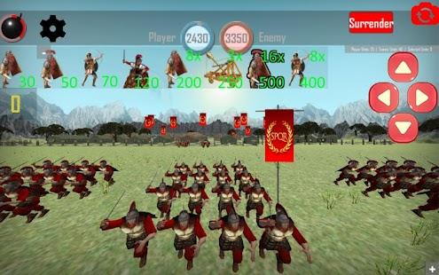 Game ROMAN EMPIRE: RISE OF ROME
