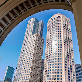 Two International Place-Boston by Cary Chu - City,  Street & Park  Skylines