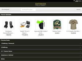 Screenshot of Enforcer Military