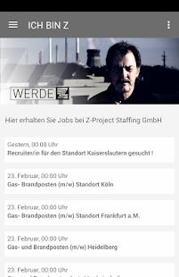 Z-Project Staffing GmbH - screenshot