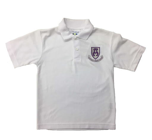 Alwoodley Primary School White Polo Shirt