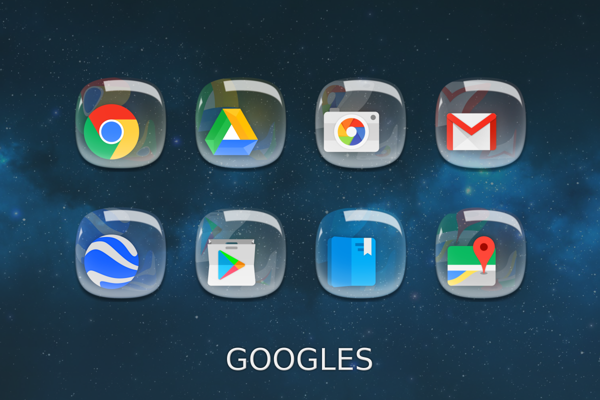 Pebbles Icon Pack Screenshot 6