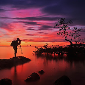 On The Spot by Ronee SutanMaharajo - Landscapes Waterscapes