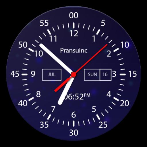 Analog Clock Live Wallpaper & Widget (app)