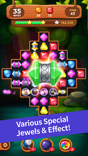 Jewels Forest : Match 3 Puzzle For PC