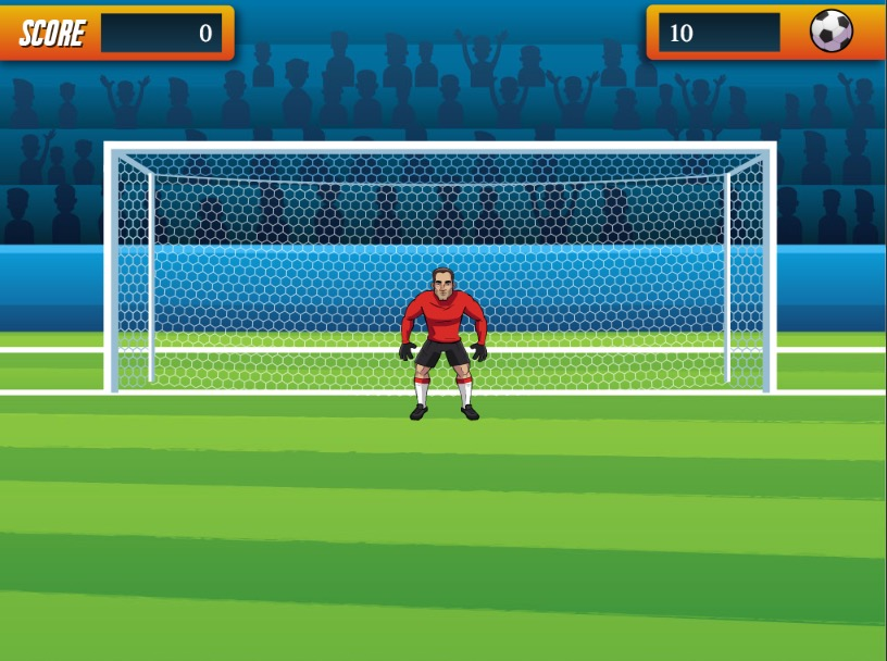 Goalkeeper chiiling