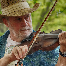 Fiddlin Around II by Alycia Marshall-Steen - People Musicians & Entertainers