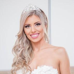 Bride K by Vlada Jovic - Wedding Bride ( wedding photography, bridal, wedding day, wedding, wedding dress, bride, portrait, photography )