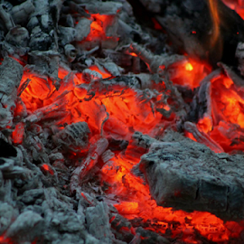 hot coals... by Susanne Carlton - Artistic Objects Other Objects