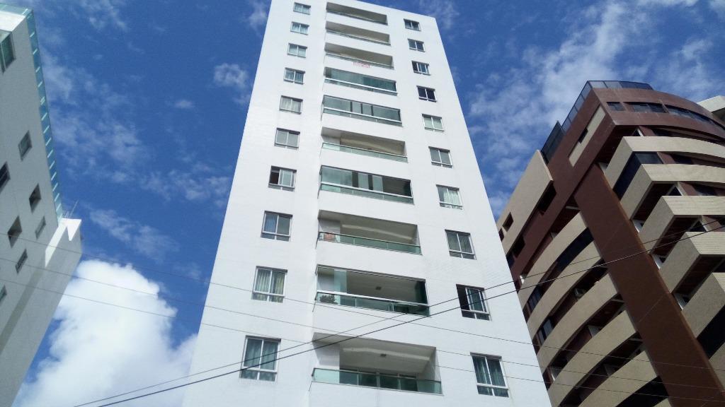 Apartamento residencial à venda, Cabo Branco, João Pessoa - AP5877.