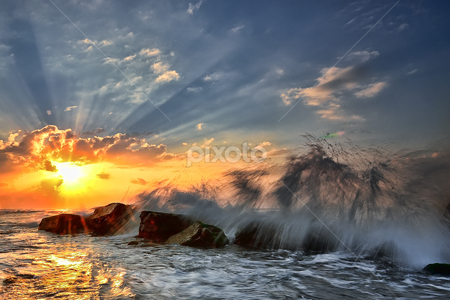 Celebration II by Hendri Suhandi - Landscapes Waterscapes ( sunrise, beach, landscape )