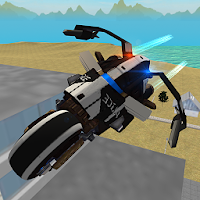 Flying Police Motorcycle Rider For PC (Windows And Mac)