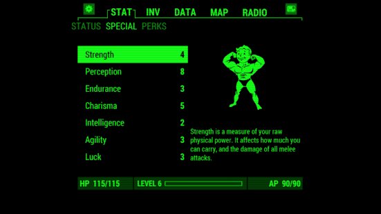 Game Fallout Pip-Boy APK for Kindle