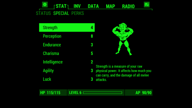 Fallout Pip-Boy APK screenshot thumbnail 1