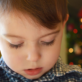 Lashes by Shannon Maltbie-Davis - Babies & Children Children Candids ( looking down, eyelashes, cute, toddler, lashes, boy )