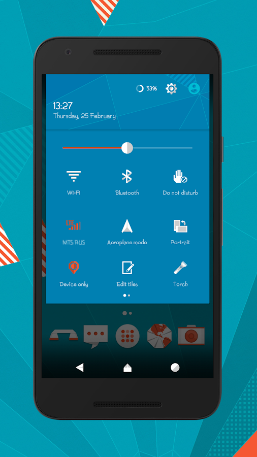 Origami cm12.1 cm13 theme Screenshot 1