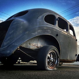 Going nowhere  by Todd Reynolds - Transportation Automobiles