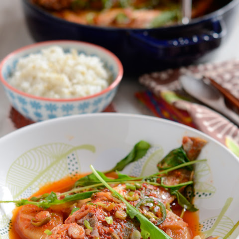 Spicy Yellow Croaker Fish Stew, Jogi MaeUn-Tang