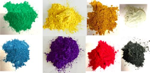 epoxy resin - Metallic Colour Epoxy Pigments