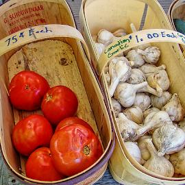canadian garlic by Lennie Locken - Food & Drink Ingredients