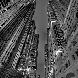 Dubai marina skyline by Péter Mocsonoky - Buildings & Architecture Other Exteriors ( skyline, taxi, skyscrapers, exterior, street, travel, cityscape, business, modern, sky, skyscraper, buildings, united arab emirates, evening, downtown, clouds, office, structure, jumeirah, tourism, landmark, tower, new, uae, night, view, big, large )