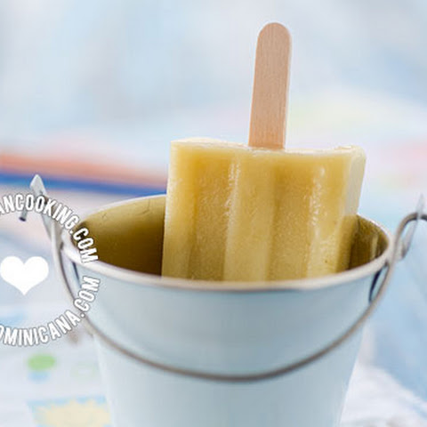 Paleta de Batata y Coco (Sweet Potato and Coconut Popsicles)