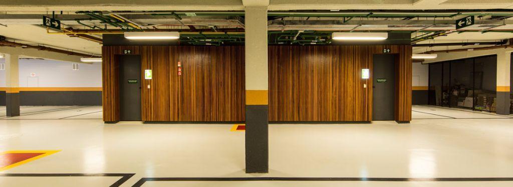 Foto do Acesso a Garagem