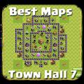 Base Map COC Town Hall 7 APK for Lenovo