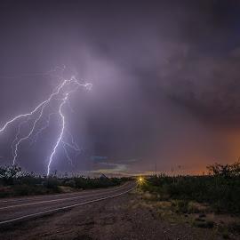 by Ed Mullins - Landscapes Weather ( lightning )
