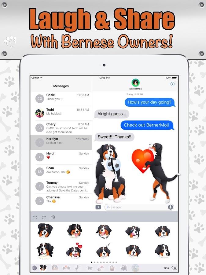 bernermoji berner emojis android apps download. Black Bedroom Furniture Sets. Home Design Ideas