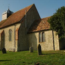 St Rumwold, Bonnington, Kent by Mark Collins - Buildings & Architecture Places of Worship ( st rumwold, church, kent, bonnington )