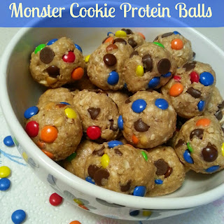MONSTER COOKIE PROTEIN BALLS