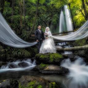 by Annisa Fitriani - Wedding Bride & Groom