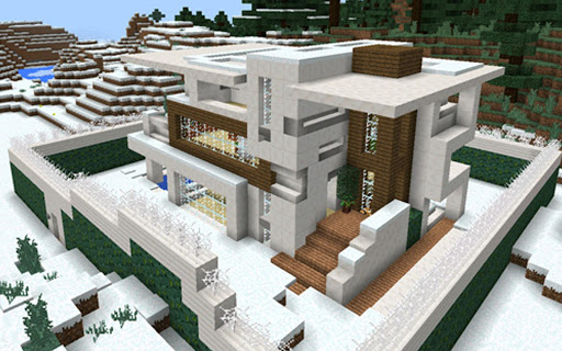 House Maps for Minecraft PE For PC