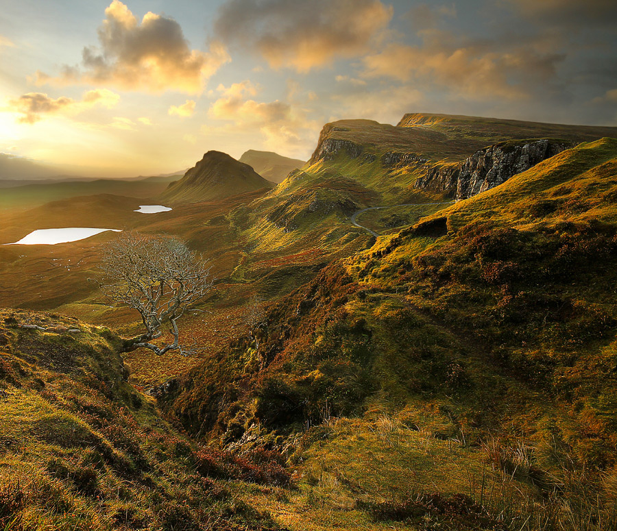 Quiraing, Isle of Skye by Wolfy Pic - Landscapes Mountains & Hills