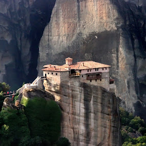 Meteora - GREECE by Daliana Pacuraru - Buildings & Architecture Bridges & Suspended Structures ( , relax, tranquil, relaxing, tranquility )