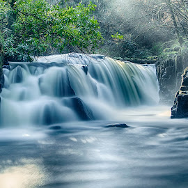 The '' Annagh River'' waterfall. by Gerry Hall - Uncategorized All Uncategorized ( waterfalls, landscape )