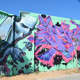Graffiti in Athens, Greece by Bill Frank - City,  Street & Park  Neighborhoods ( graffiti, greece, athens, travel, travel photography, travel locations )