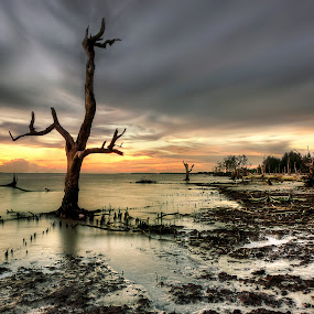 kehancuran by Jerung Hitam - Landscapes Waterscapes