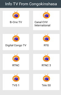 Info TV From Congokinshasa - screenshot