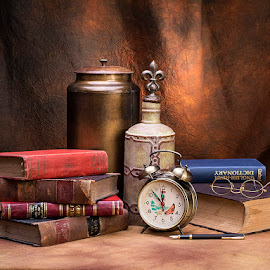 A Still Life Capture in the Library.. by Rakesh Syal - Artistic Objects Still Life