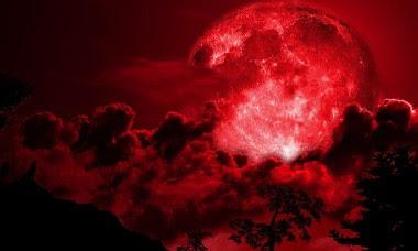 суперлуние кровавая луна
