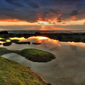 When the Sun go down by I Gusti Putu Purnama Jaya - Landscapes Sunsets & Sunrises ( adhitz arch, biksudinata, tut bolank, agoes antara, yuditia mendra )