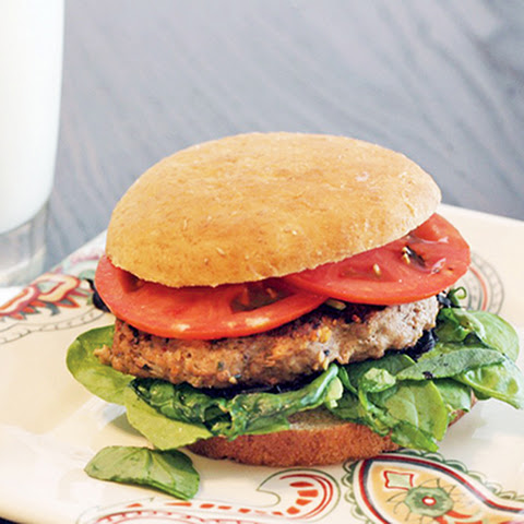 Skinny Worcestershire Turkey Burger